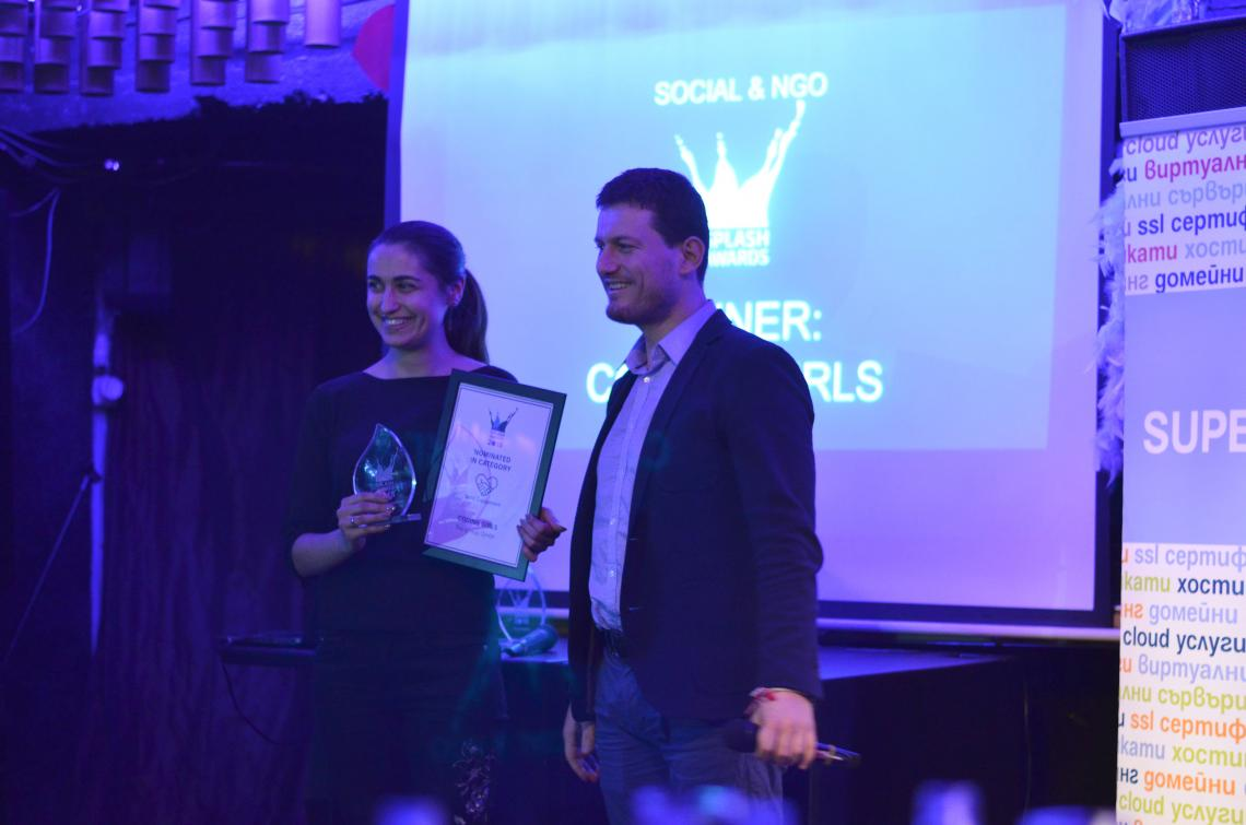 Coding Girls Awarded for Best Social Project at Splash Awards